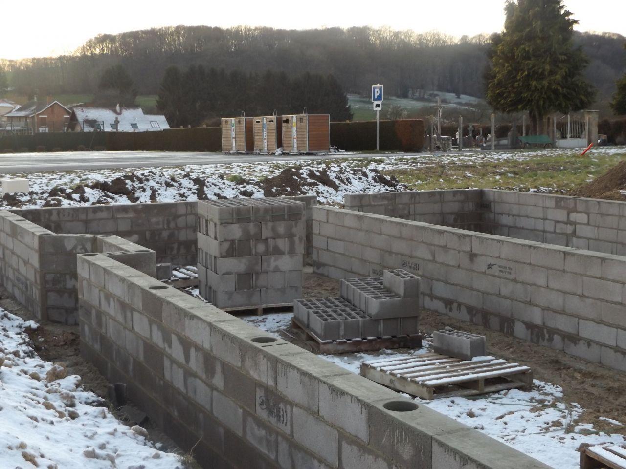 R cap de la semaine terrassement fondation et vide for Fondation vide sanitaire