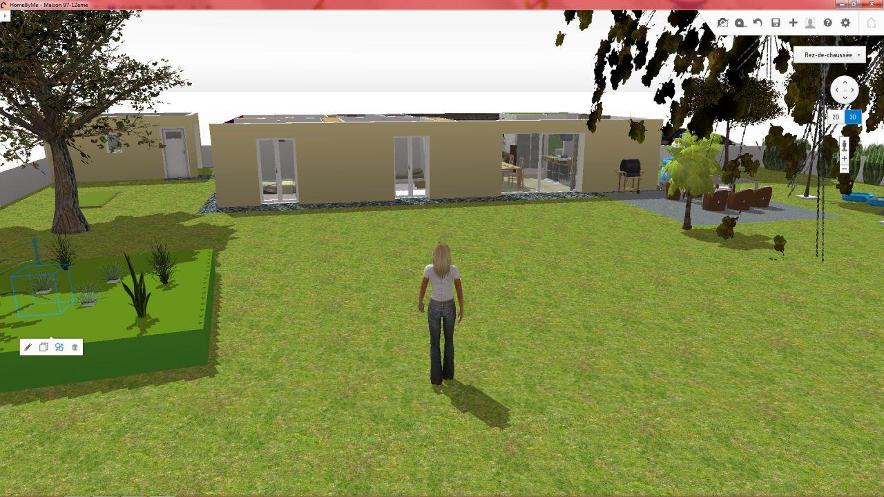 3D façade sud