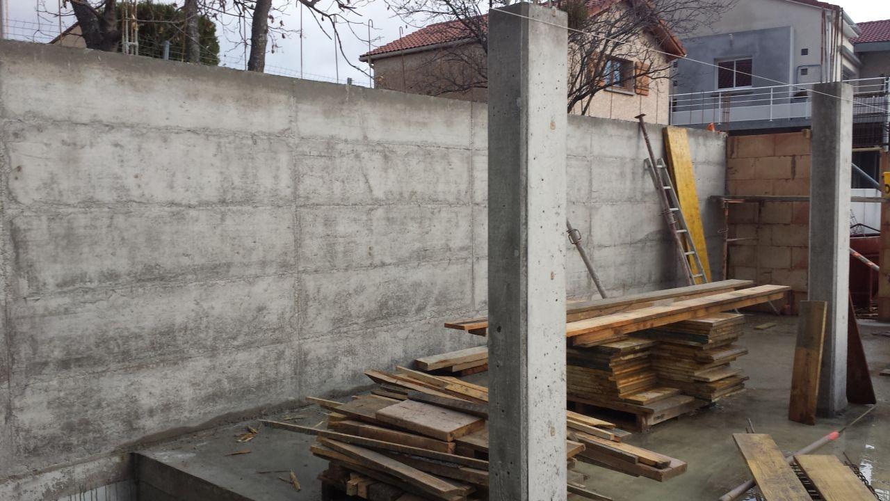 Murs en limite