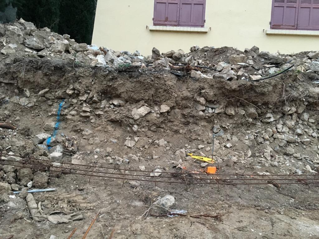plus de mur en pierre !