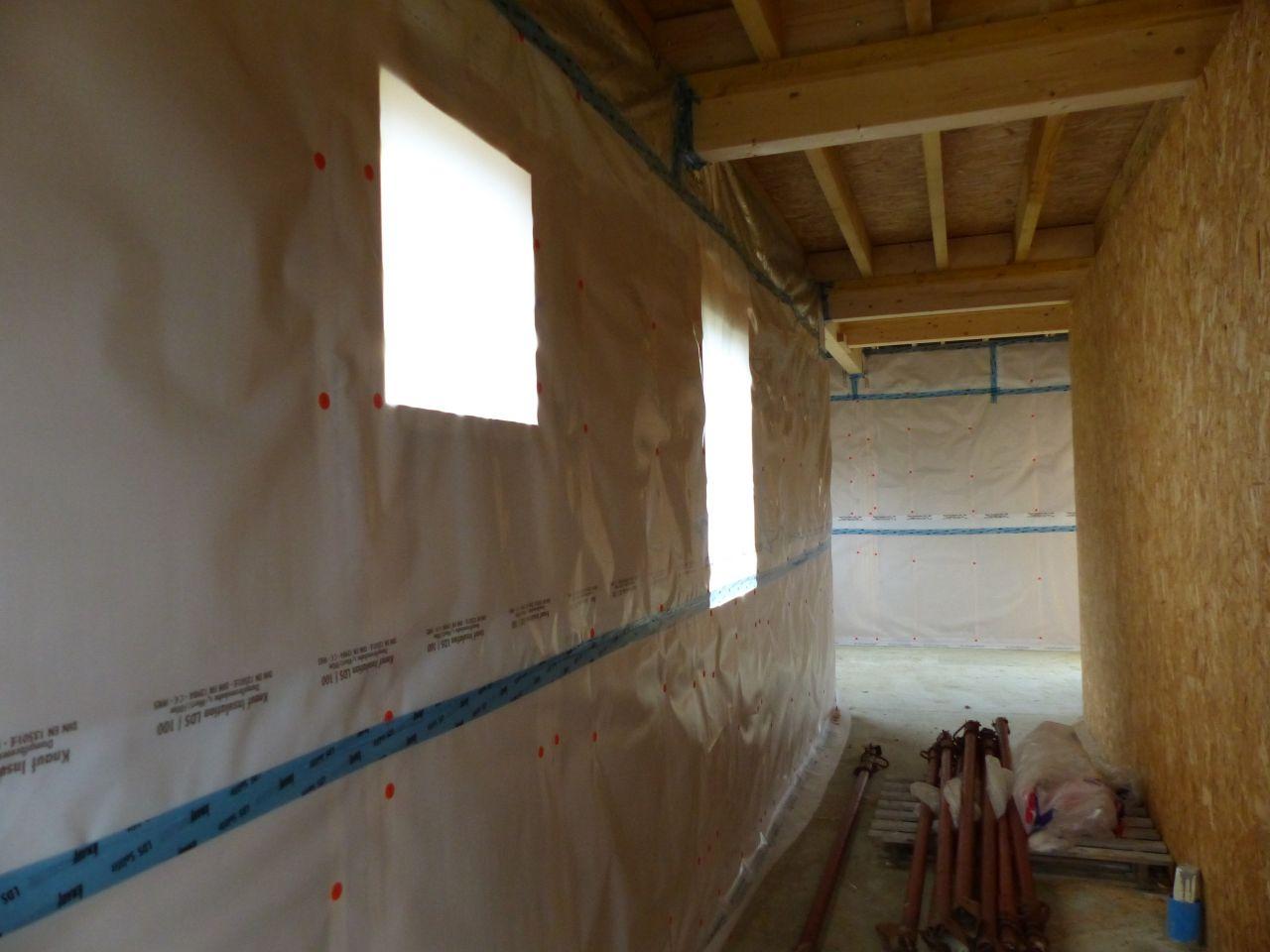Photo isolation int rieure laine de bois isolation for Isolation interieur