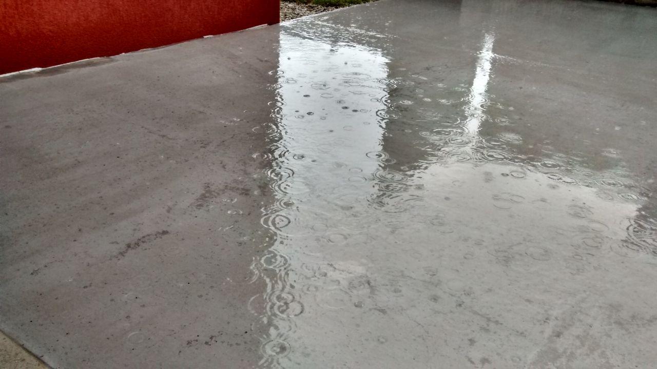 terrasse beton sans pente