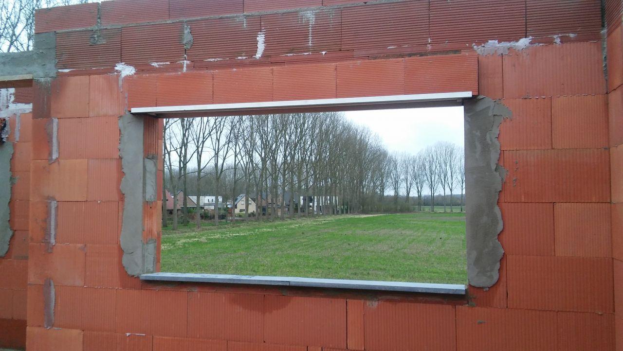 Fenêtre de Monsieur, vue du palier !