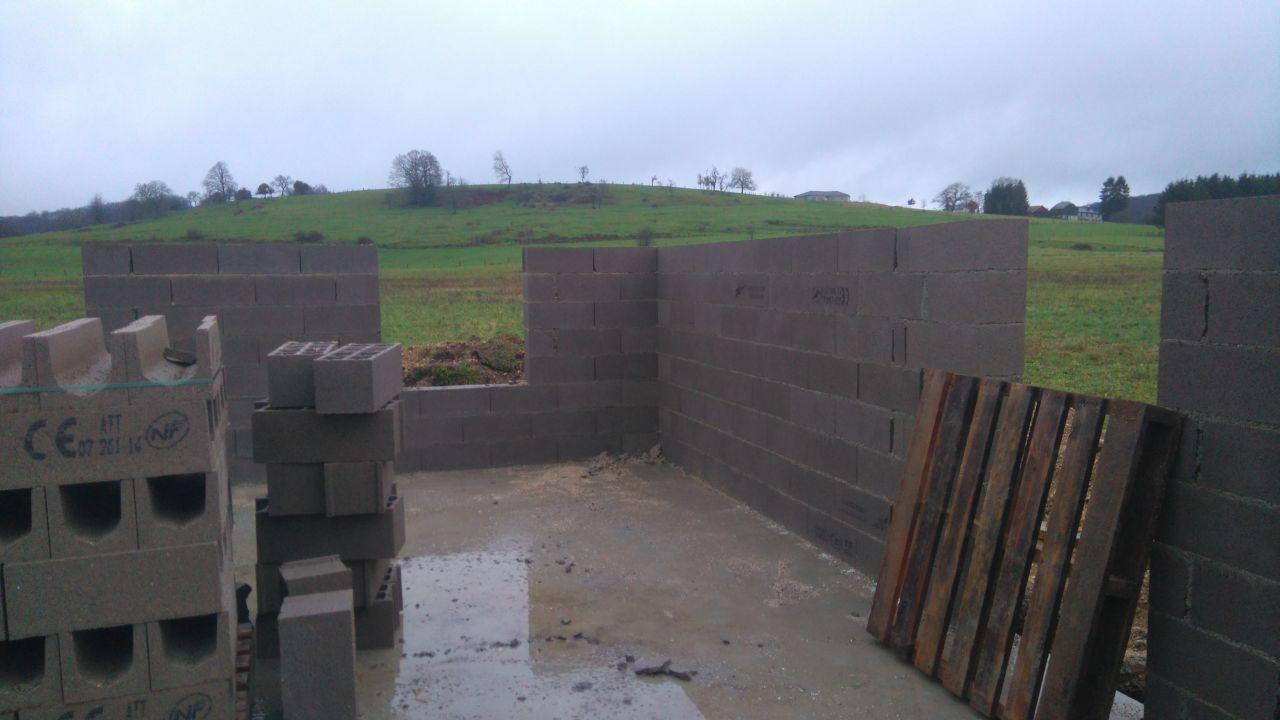 Suite levation des murs suite l vation des murs for Garage qui fait credit
