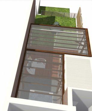 extension toit terrasse jardin d 39 hiver dans une maison 1930 nord. Black Bedroom Furniture Sets. Home Design Ideas