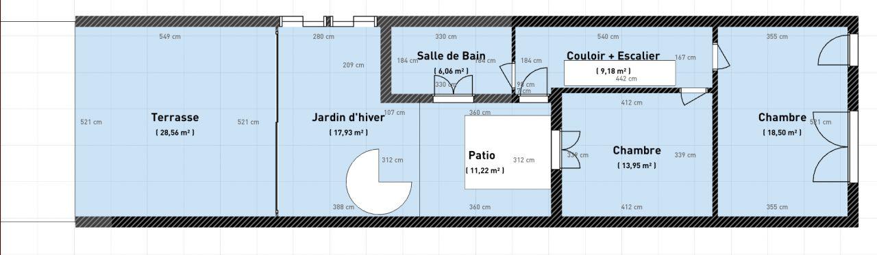 Plan Projet 1 : étage