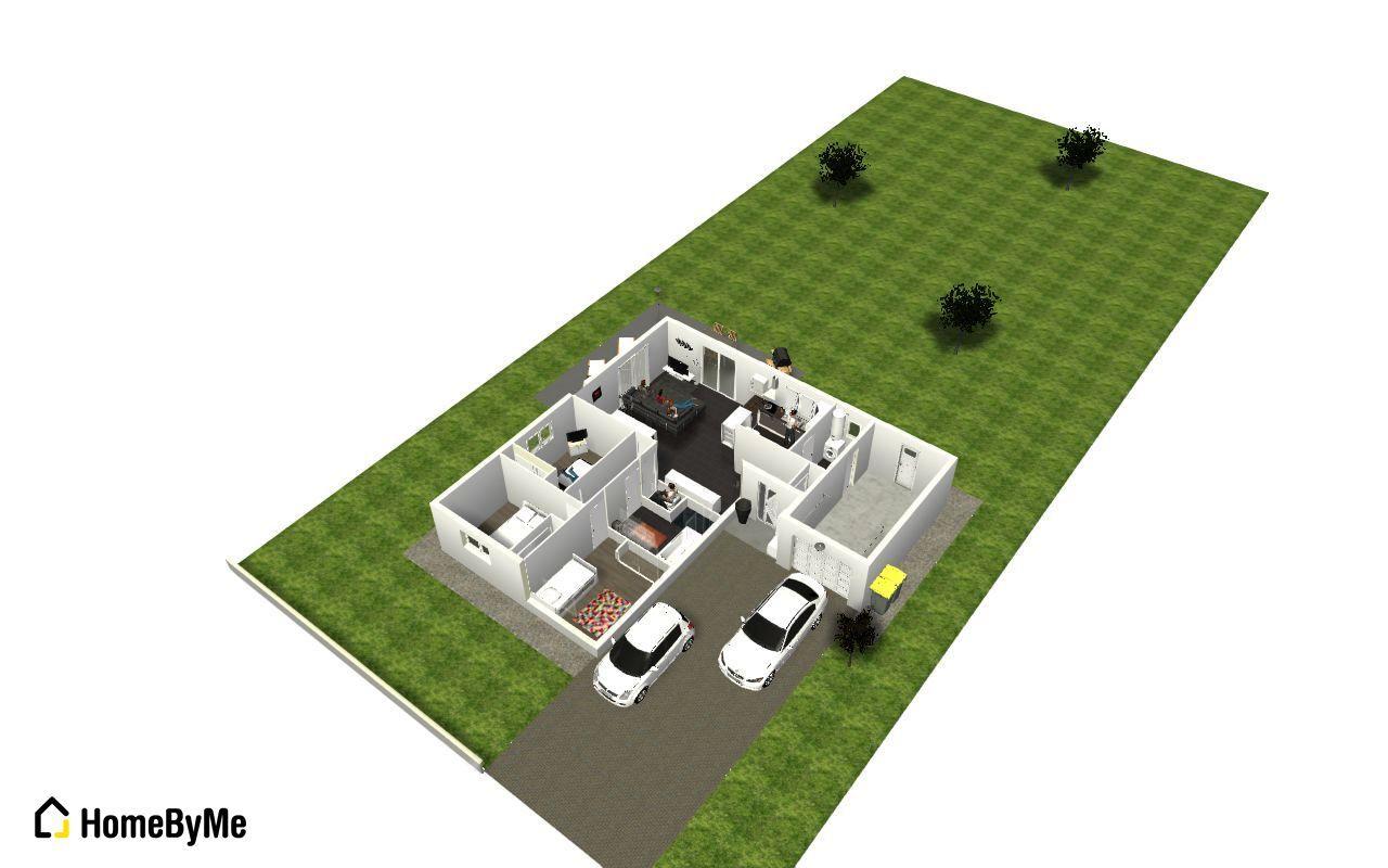 Plans maison n°2 retenu