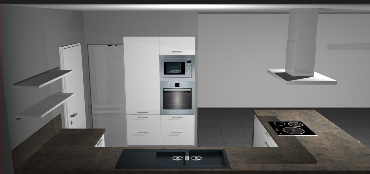 Maison en l joyeux constructions vienne mode blog for Cuisine financement 0