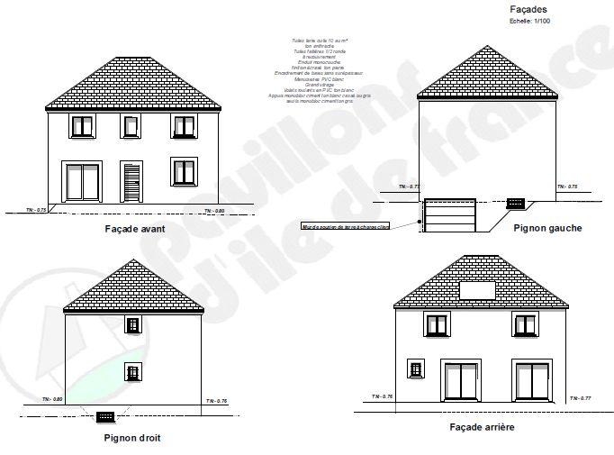 Modèle final de la Maison R 1