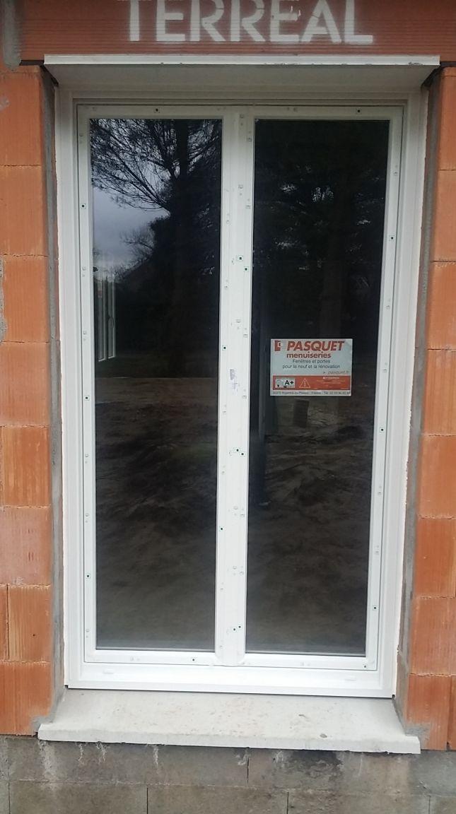Façade Sud - Porte fenêtre ch parentale
