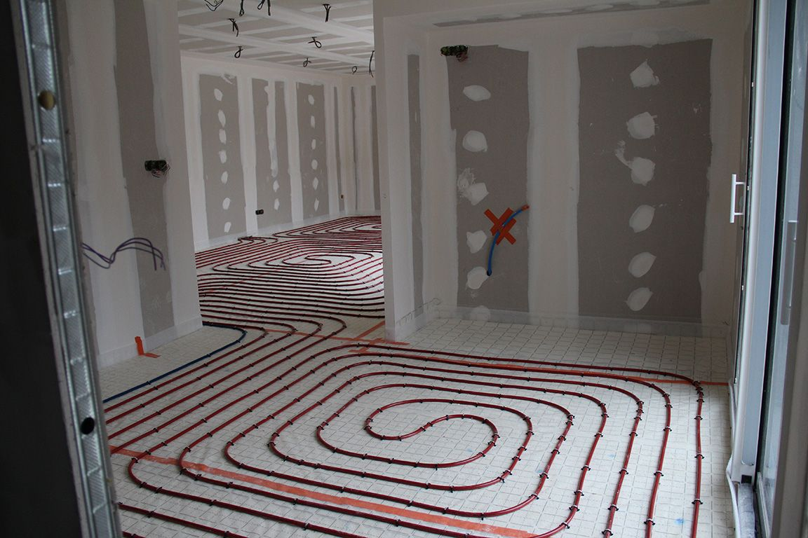 point d 39 tape au 1er f vrier 2016 isolation du sol rdc mousse polyur thane projet e. Black Bedroom Furniture Sets. Home Design Ideas
