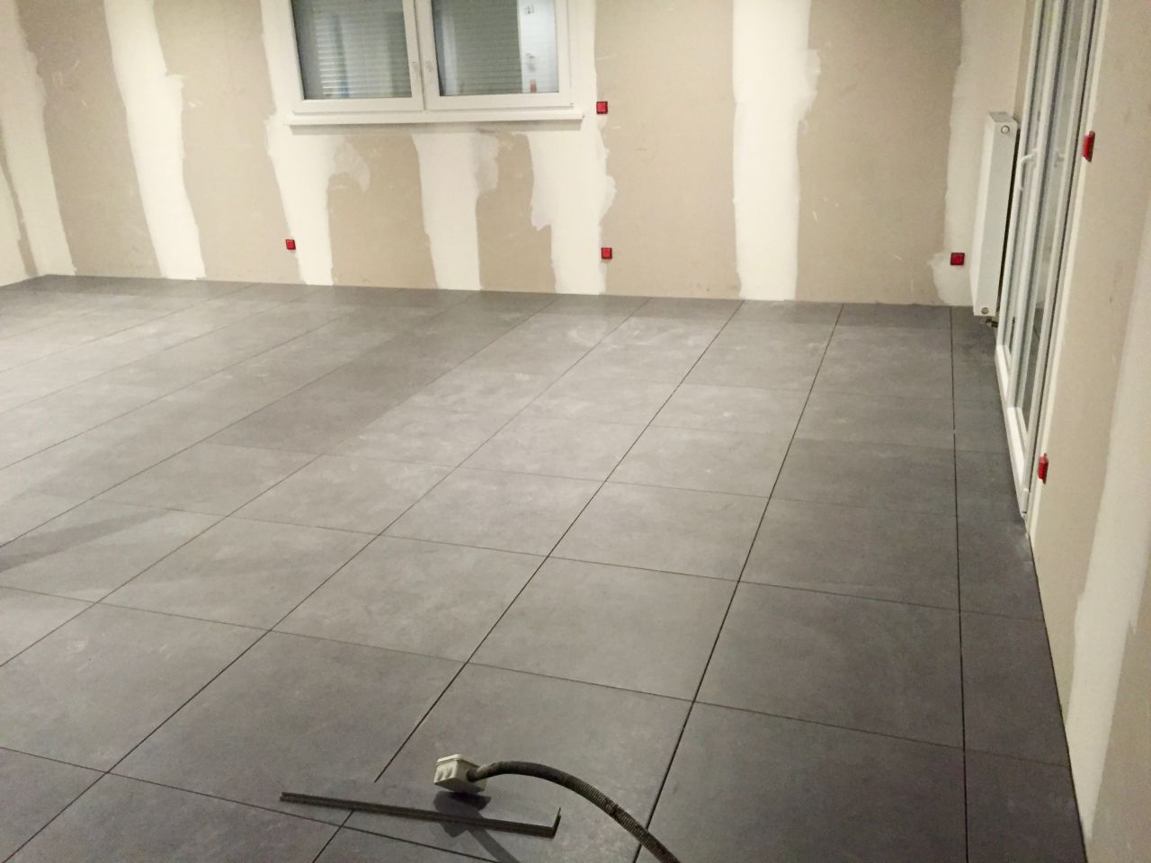 D but carrelage peinture parquet plinthes phase 1 for Carrelage du midi