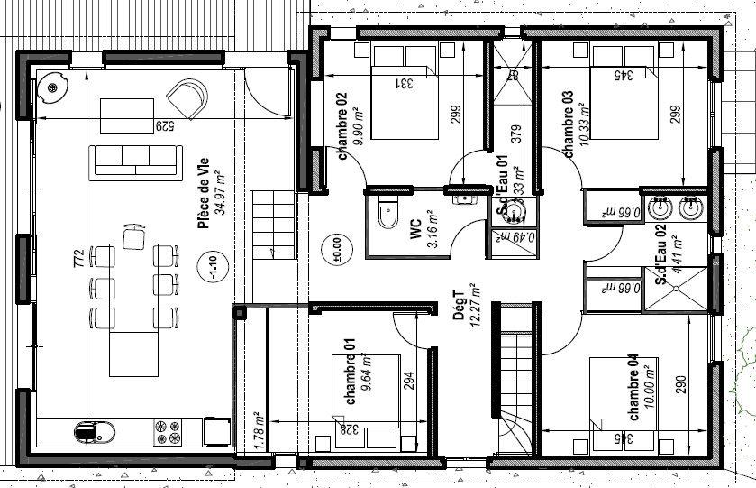 Plans créés par l'architecte