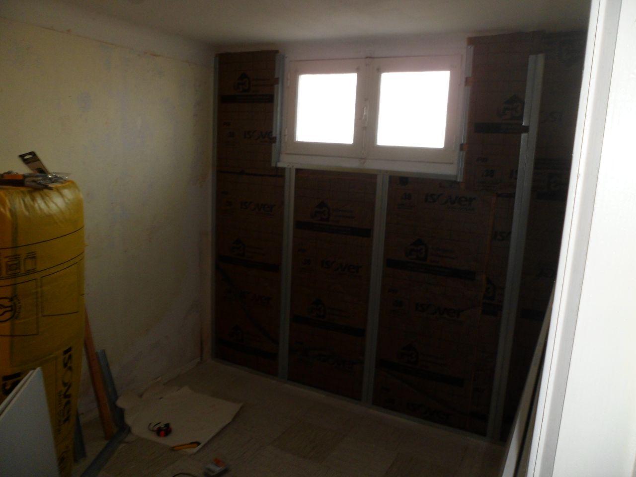 Isolation d'une chambre du sous-sol