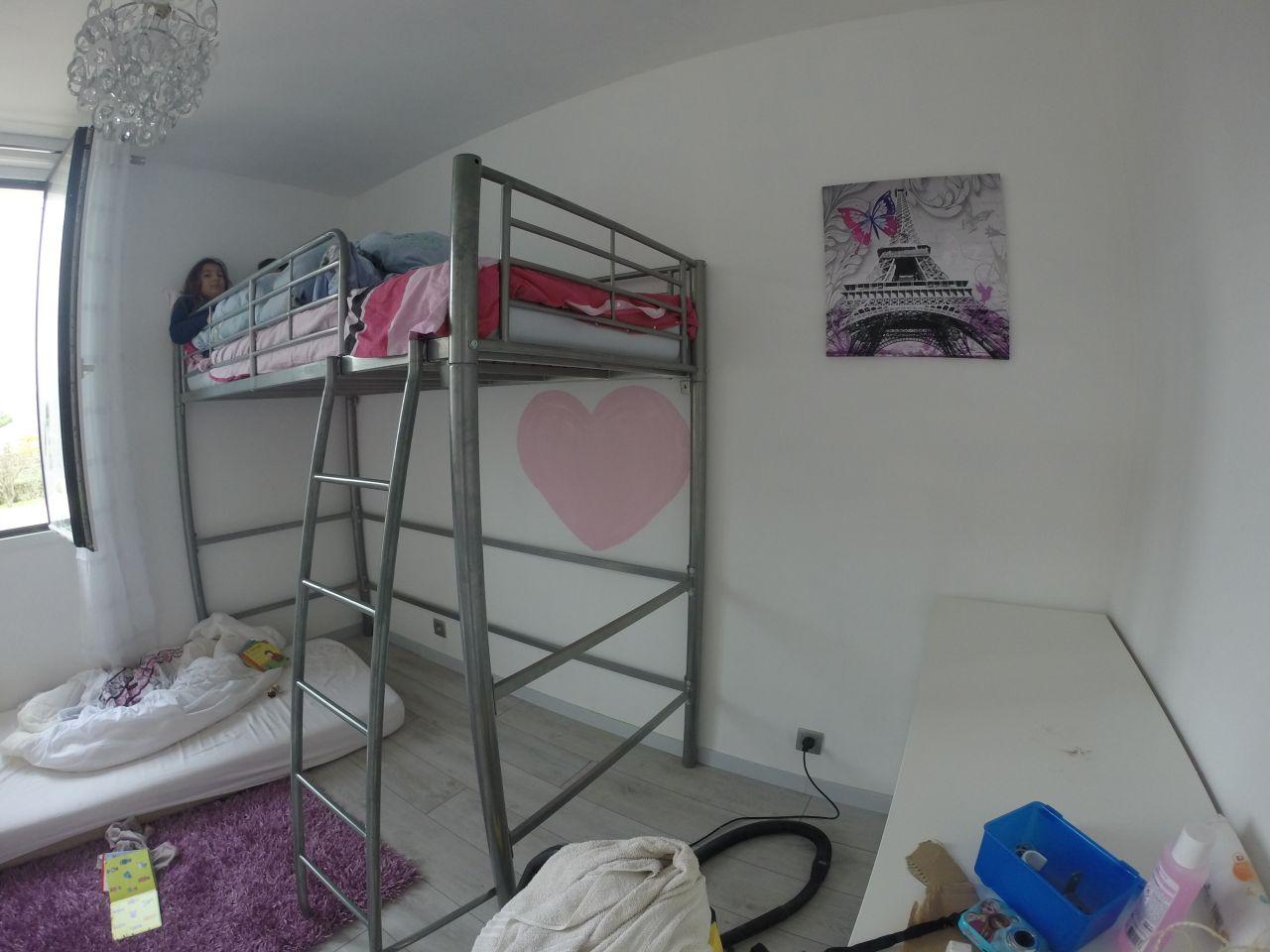 Chambre de notre première fille en cours d'aménagement