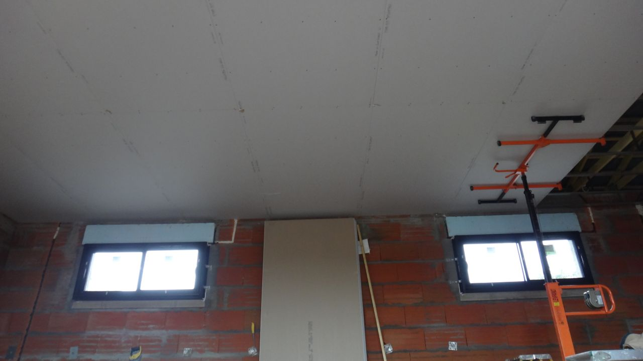 les plafons des chambres