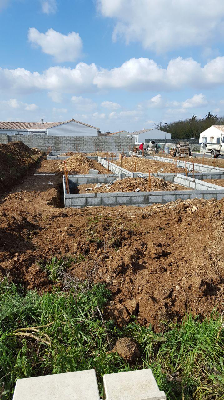 Terassement et fondations rdv chef de chantier et choix for Terrassement et fondation