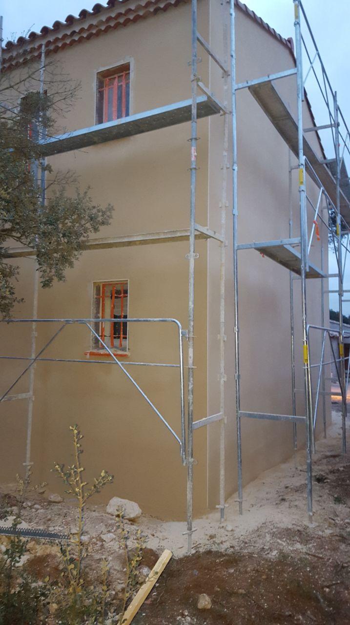 plomberie en cours raccordement erdf 22 mars fa ade en cour beaulieu herault. Black Bedroom Furniture Sets. Home Design Ideas