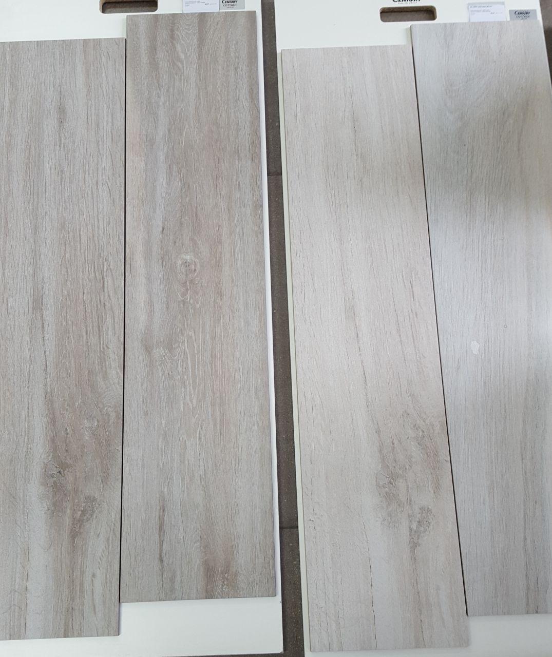 Carrelage imitation bois dans les 3 chambres, dressing et les 2 SDE