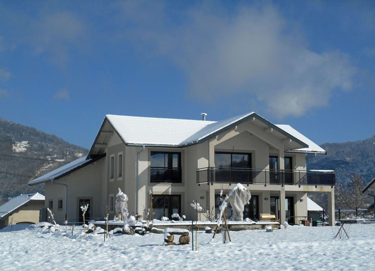 Facade sud-ouest - Haute Savoie (74) - mars 2016