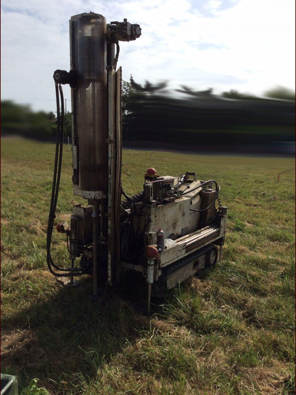 "La ""machine qui sonde le terrain."