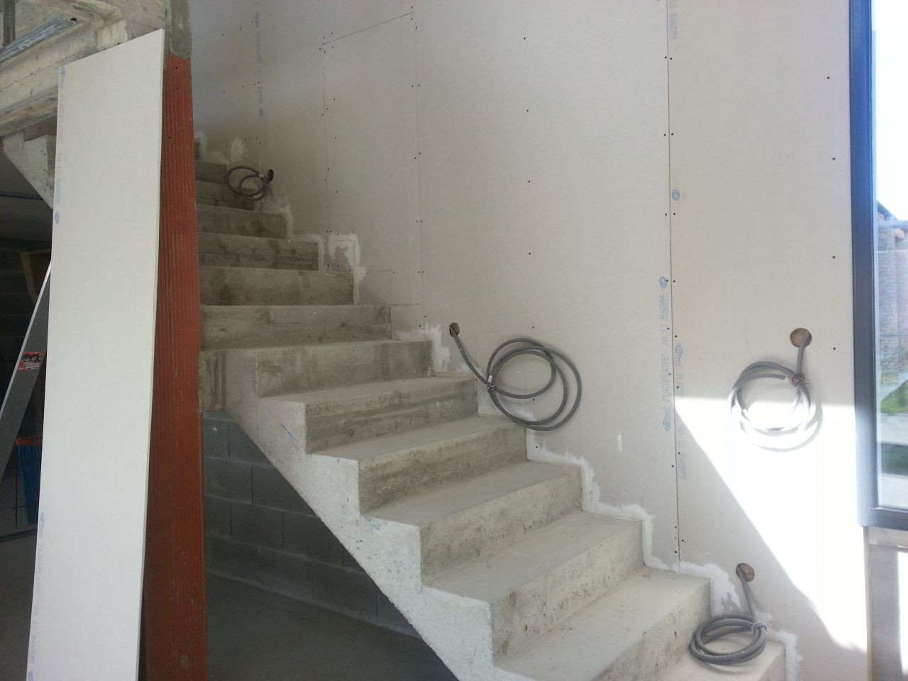 spots escalier