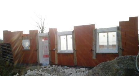 Porte Bel'm, hublot alu et fenêtres PVC