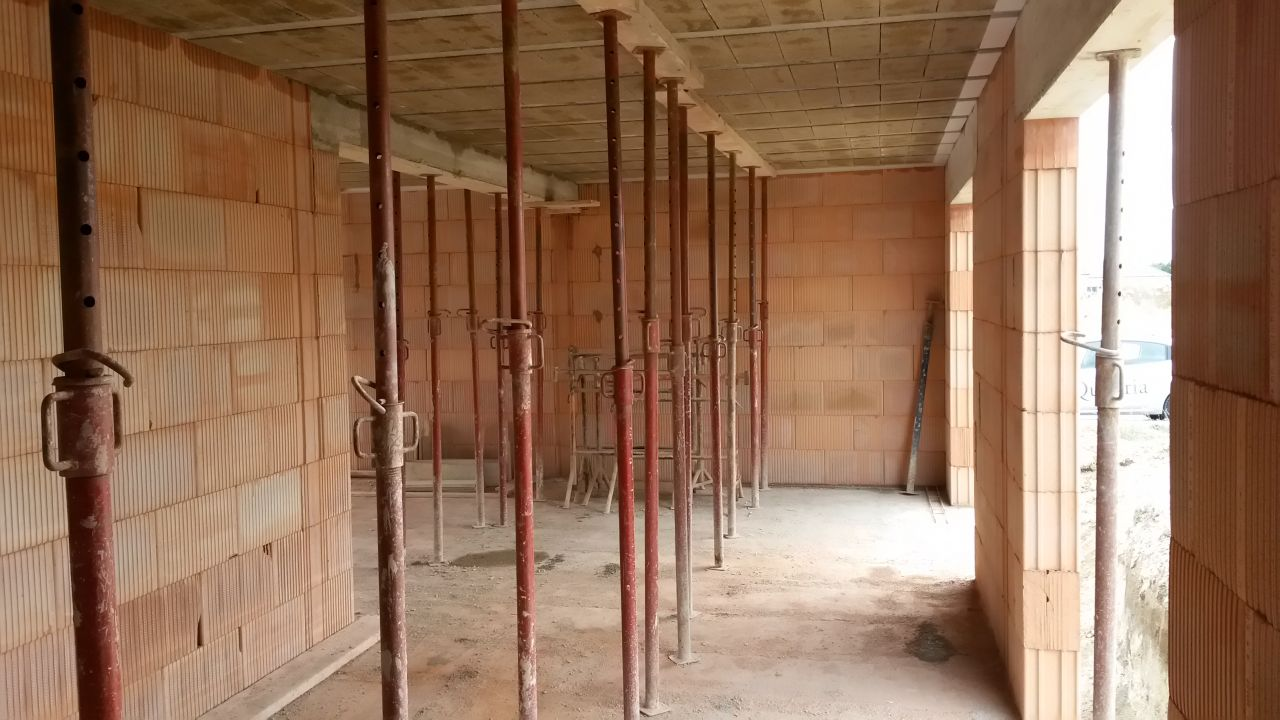 Le plancher du 1er étage