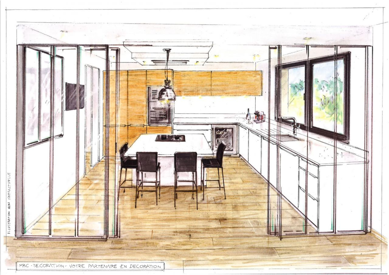 Plan de cuisine MBC