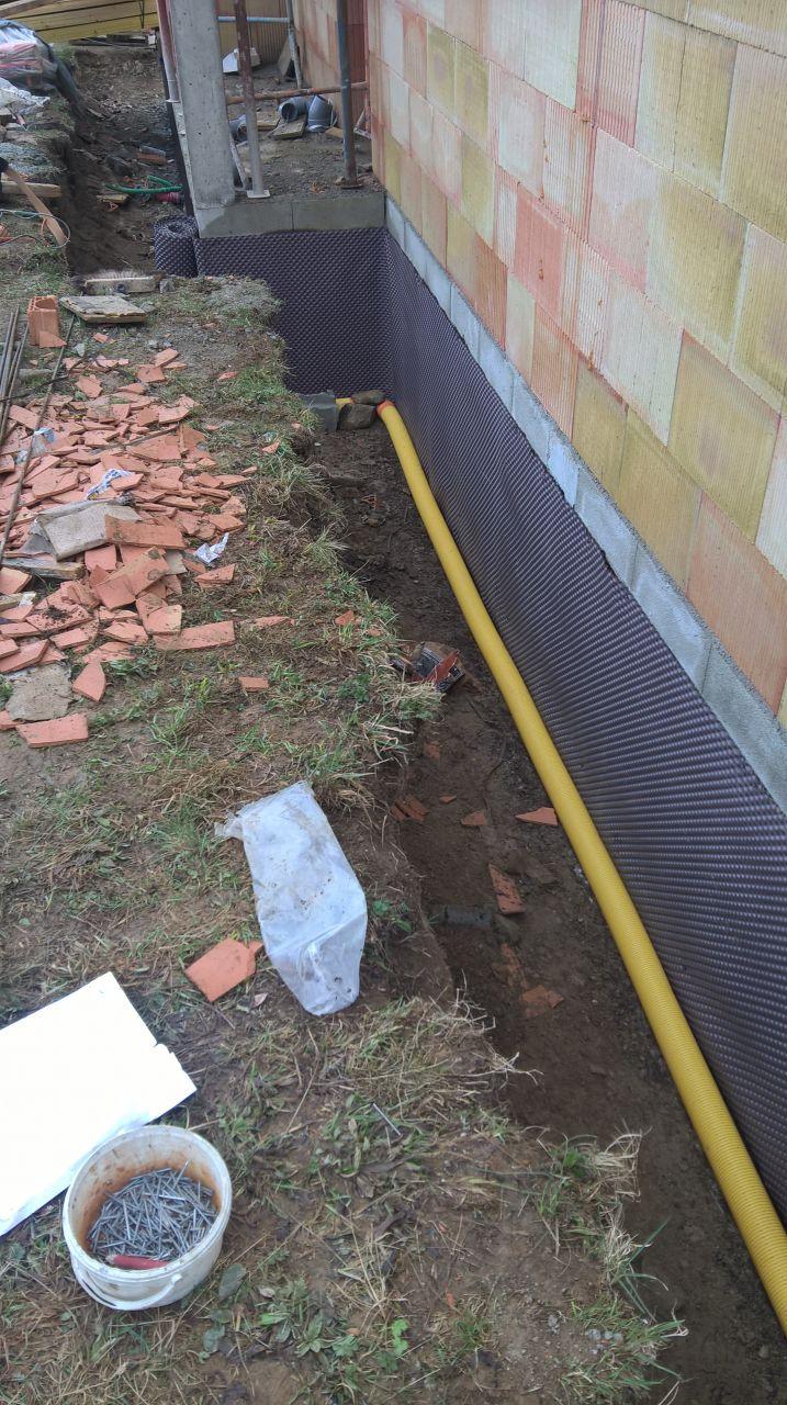 installation du drainage2
