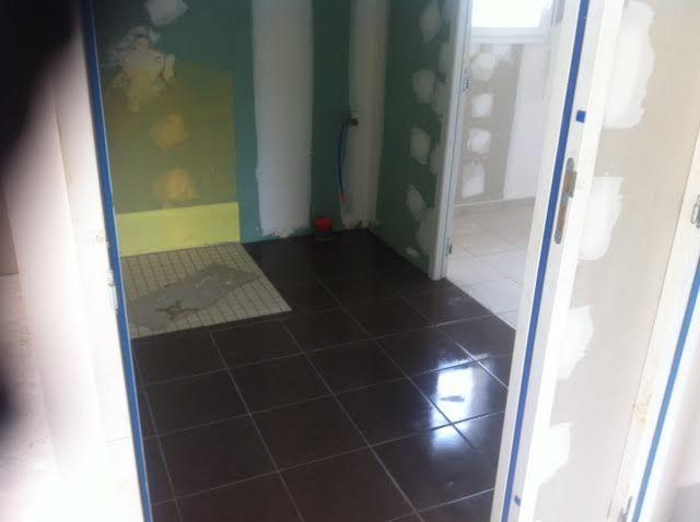 La salle de bain du bas