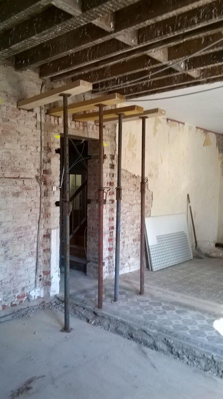pr paration ouverture mur cuisine salon preparation des fers a beton pr paration pour le. Black Bedroom Furniture Sets. Home Design Ideas