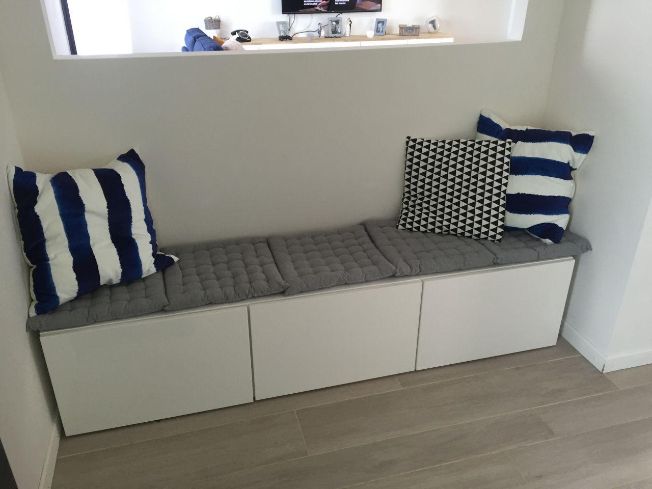 banquette d entr e banquette d entree quelques liens utiles agr able meuble d entree gris 4. Black Bedroom Furniture Sets. Home Design Ideas