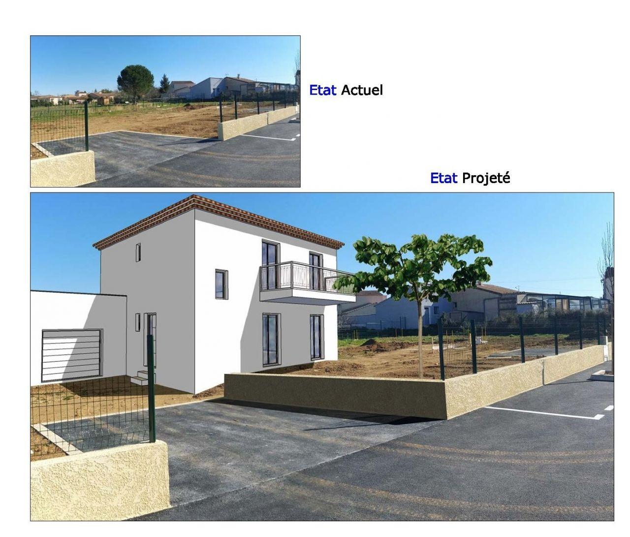 Insertion du projet, vue 3D