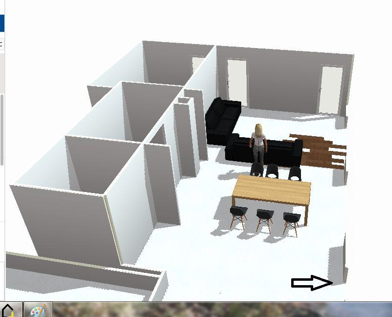 sens de pose carrelage imitation parquet maison en longueur - 20 ... - Parquet Perpendiculaire A La Fenetre