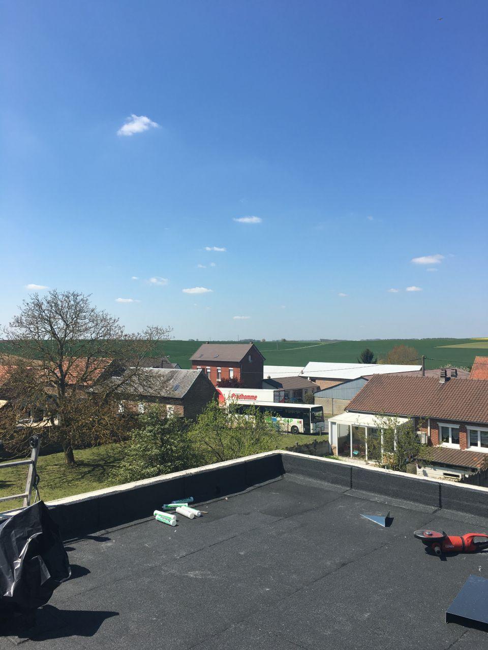 Dalle toit hors d 39 eau hors d 39 air placo ovillers la for Prix maison hors d eau hors d air 130m2