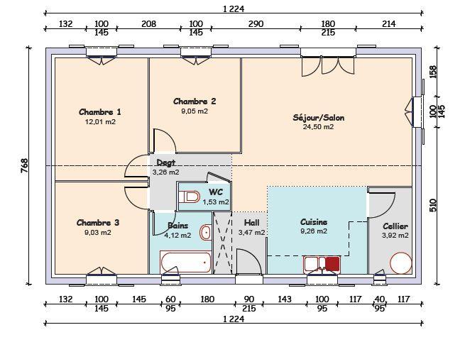 Plan de maison mca for Plan maison mca