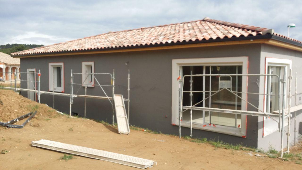 Facade gris souris ral gris souris beautiful ral gris souris prefa siding sandbraun referenz - Peinture facade gris anthracite ...