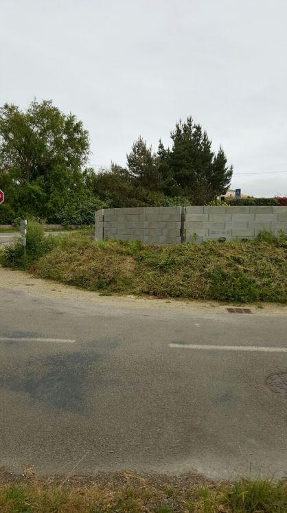 muret de clôture