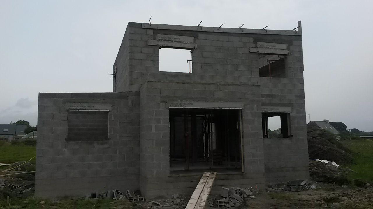 façade sud terminée