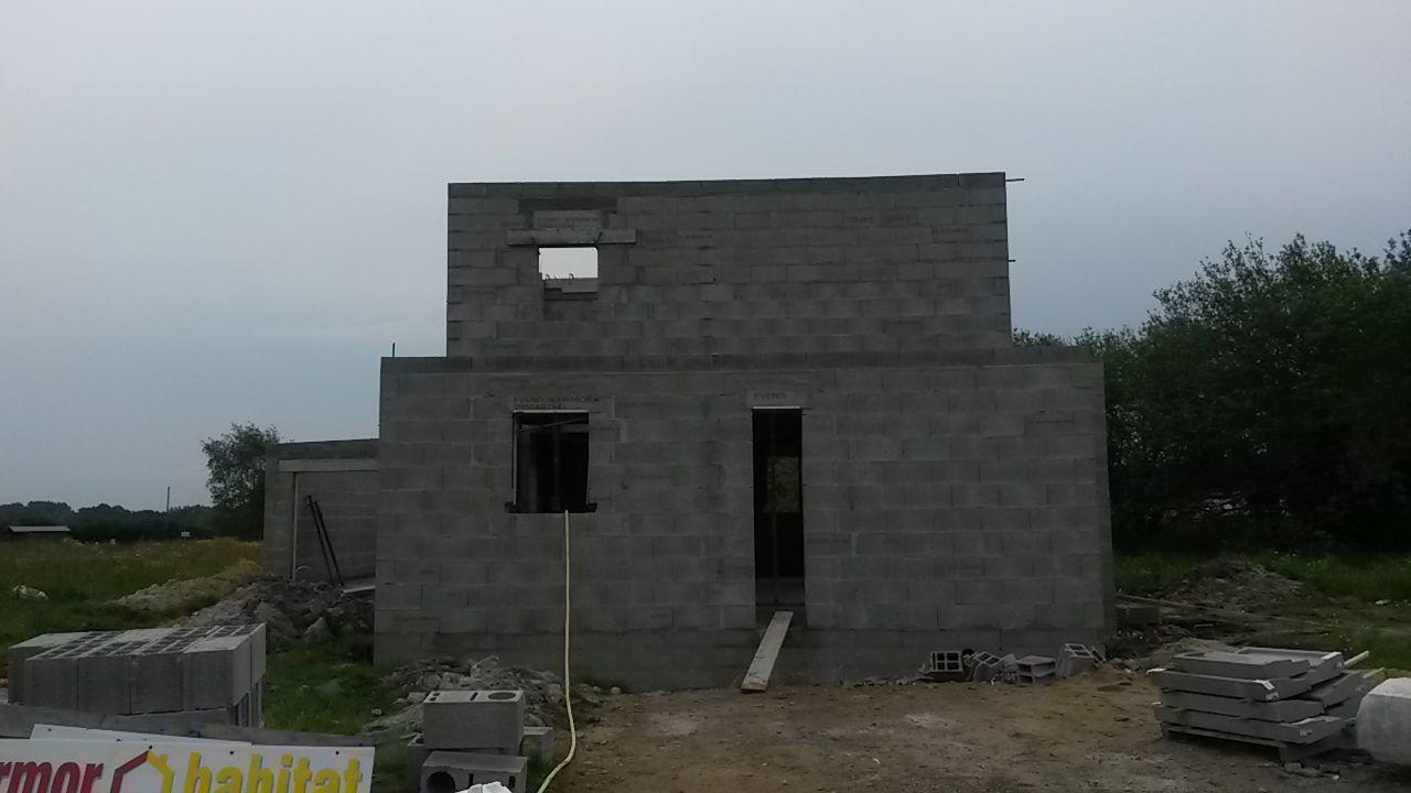 façade ouest terminée