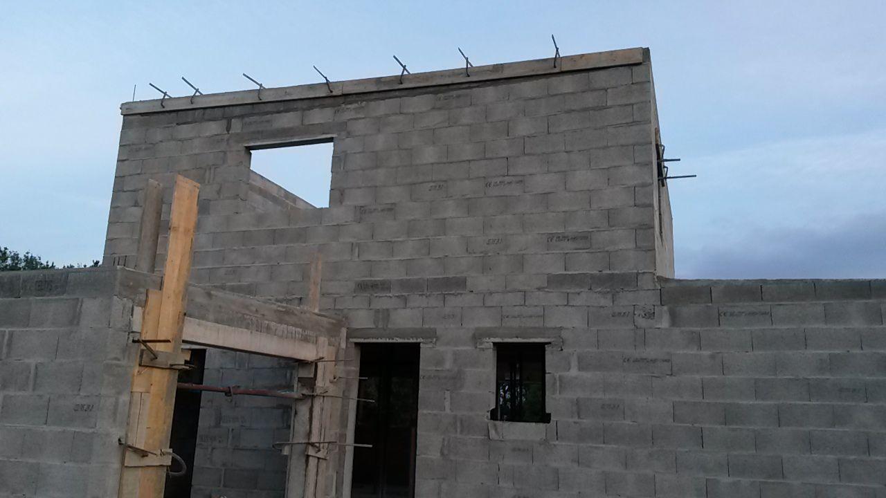 façade nord terminée