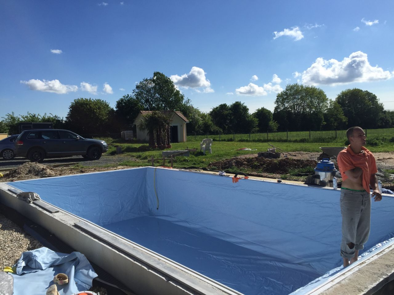 Photo piscine blocs bancher eure 27 mai 2016 for Construction piscine 27