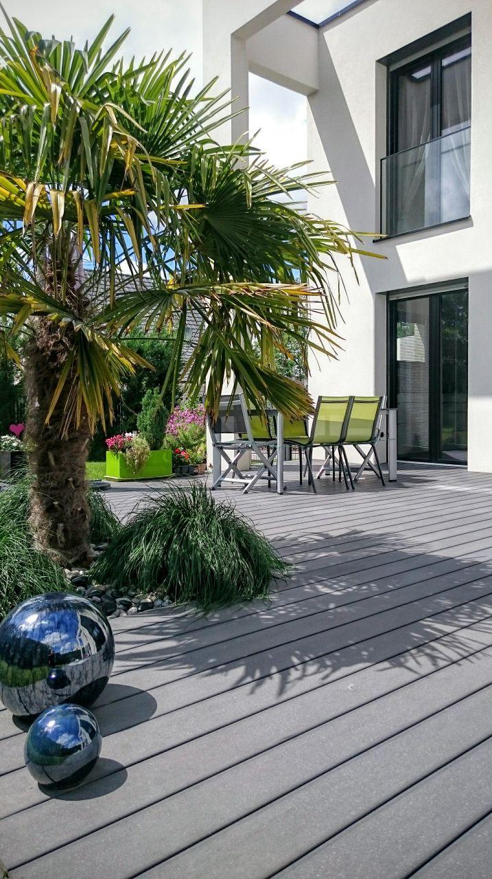 Terrasse contemporaine - Sierentz (Haut Rhin - 68) - mai 2016