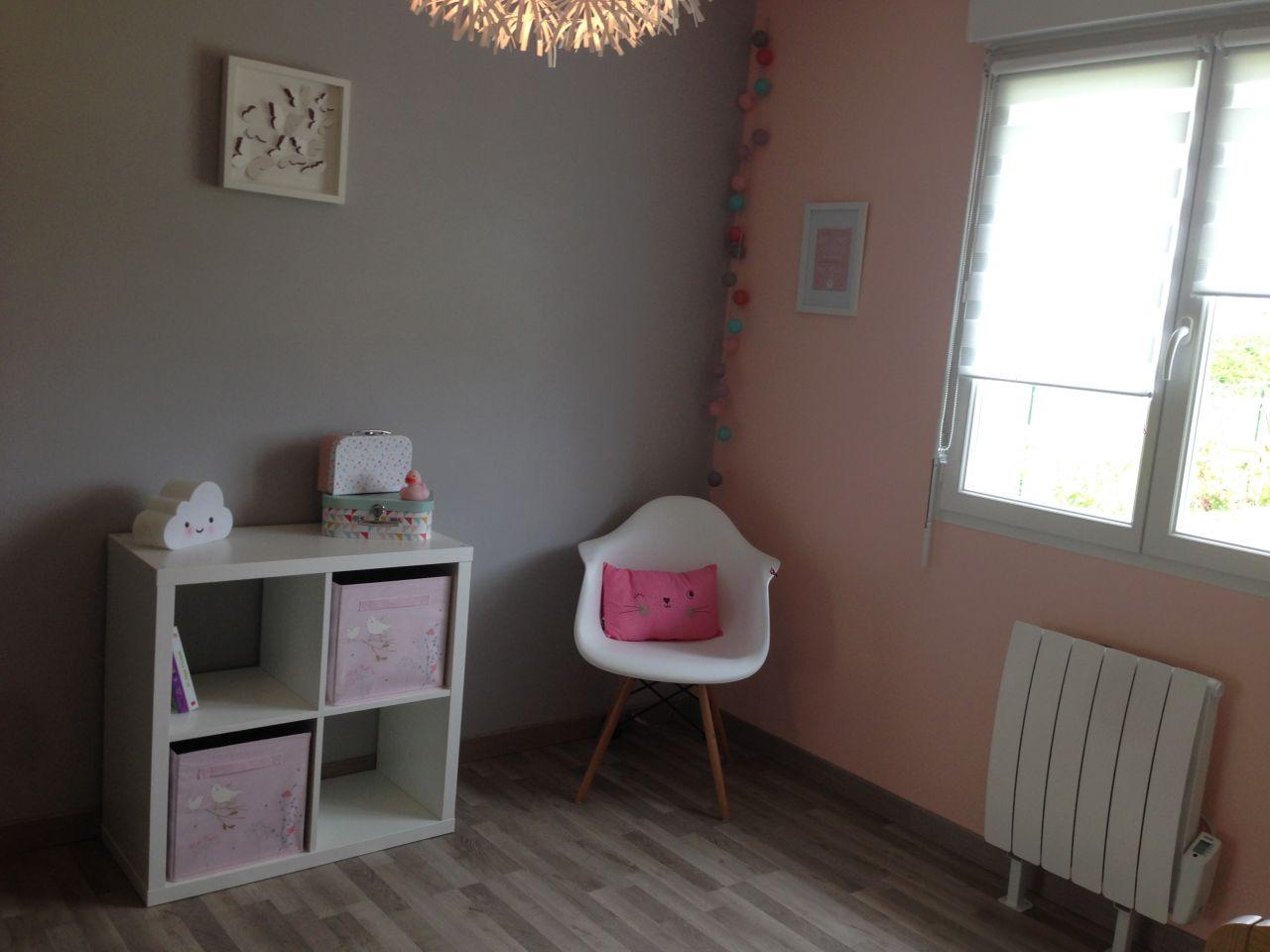 Chambre d'enfant revêtement peinture - Marne (51) - mai 2016