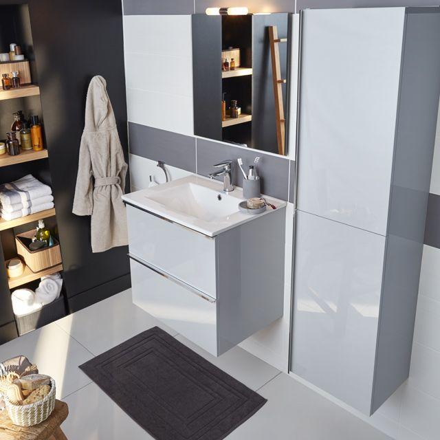 meuble salle de bain castorama ohla