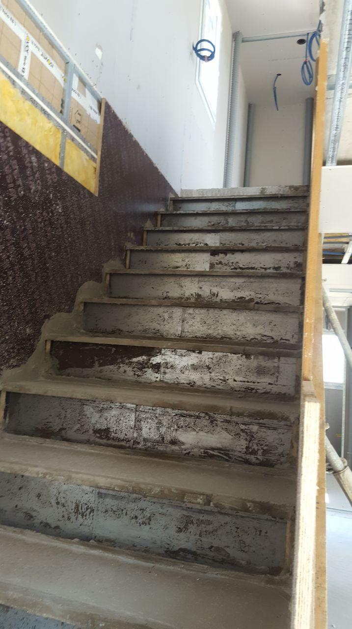 Escalier a crémaillère