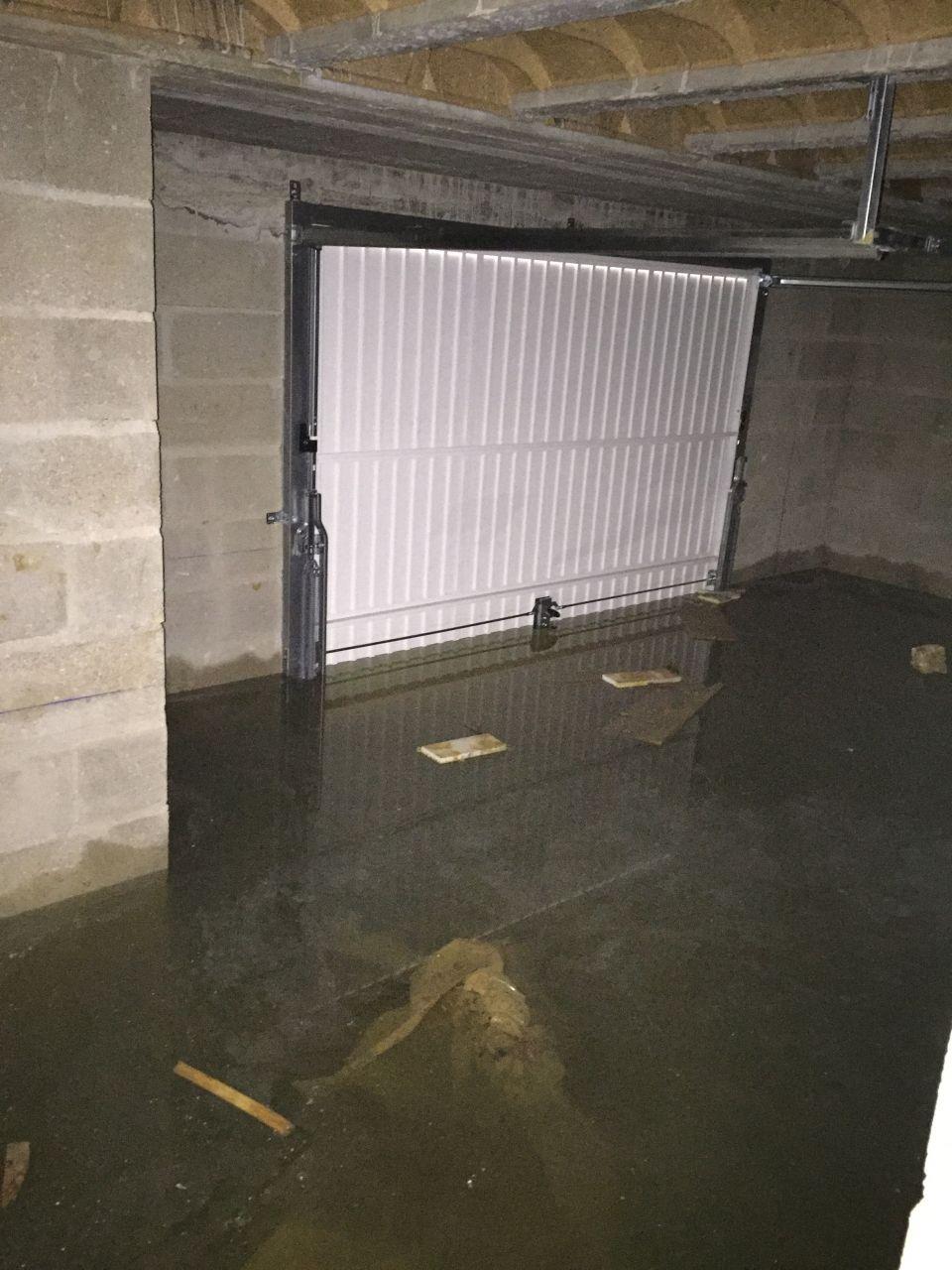 Construction en cours eau dans le sous sol 7 messages for Alarme garage sous sol