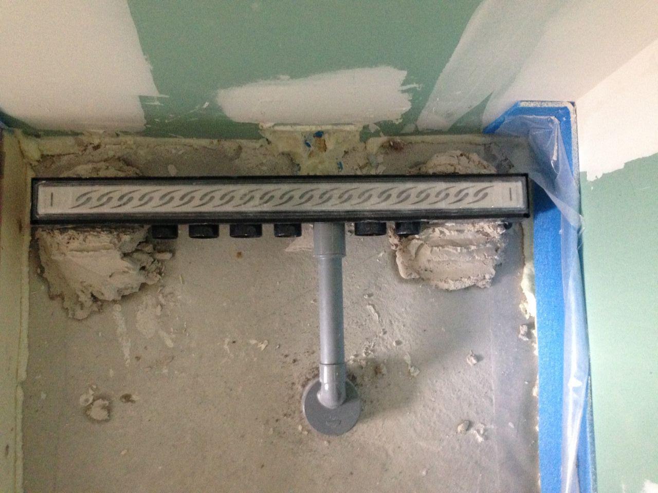 Pon age fait top d part pour la sous couche notre adoucisseur d 39 e - Siphon caniveau douche italienne ...