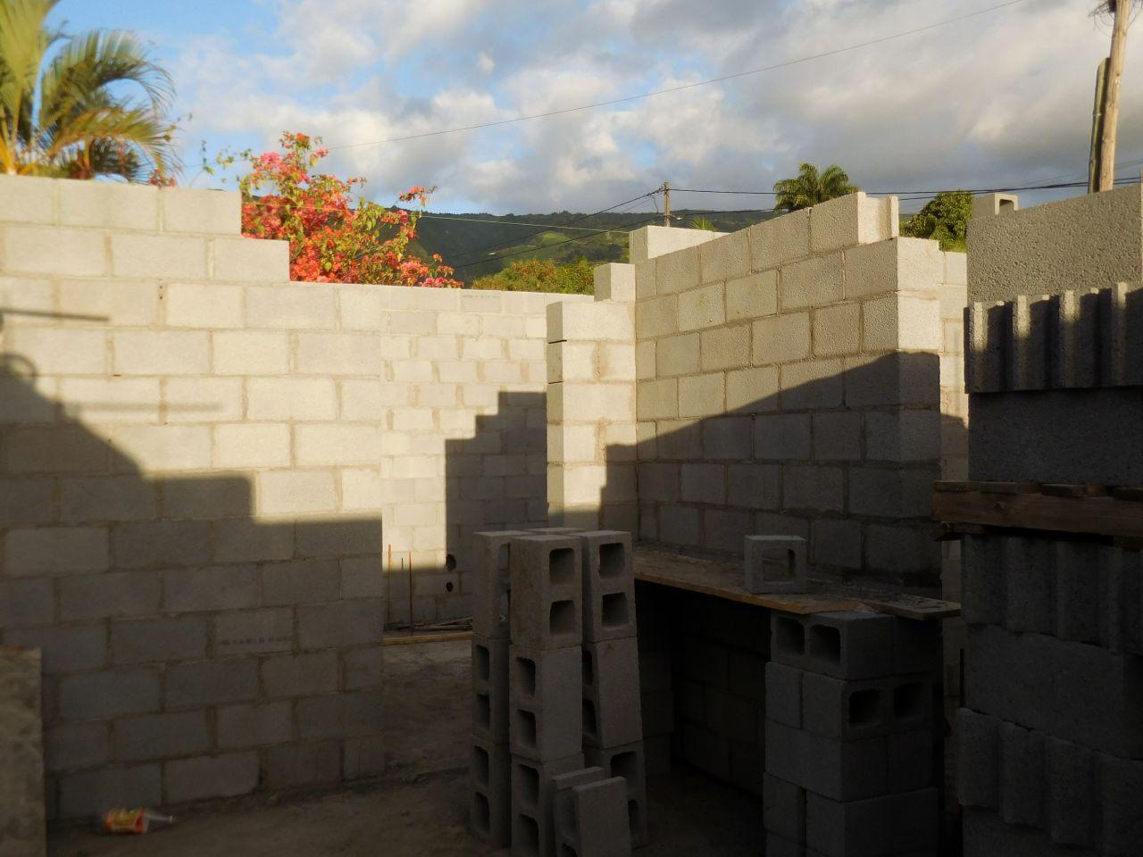 Élévation des murs porteurs